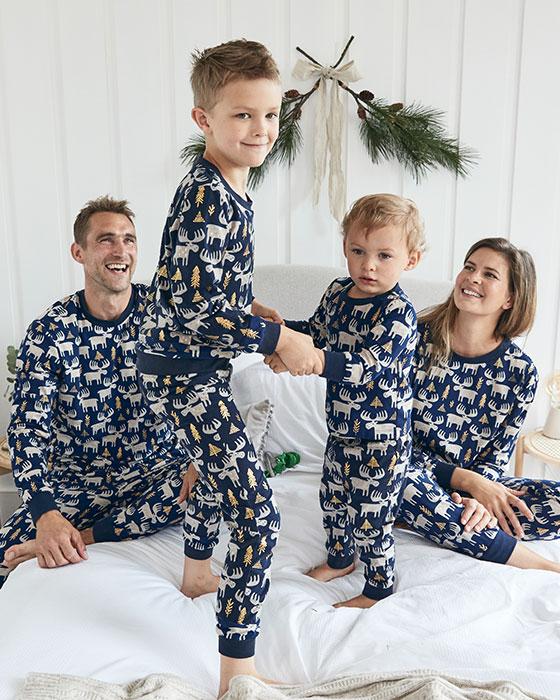 Pijama para toda la familia a juego